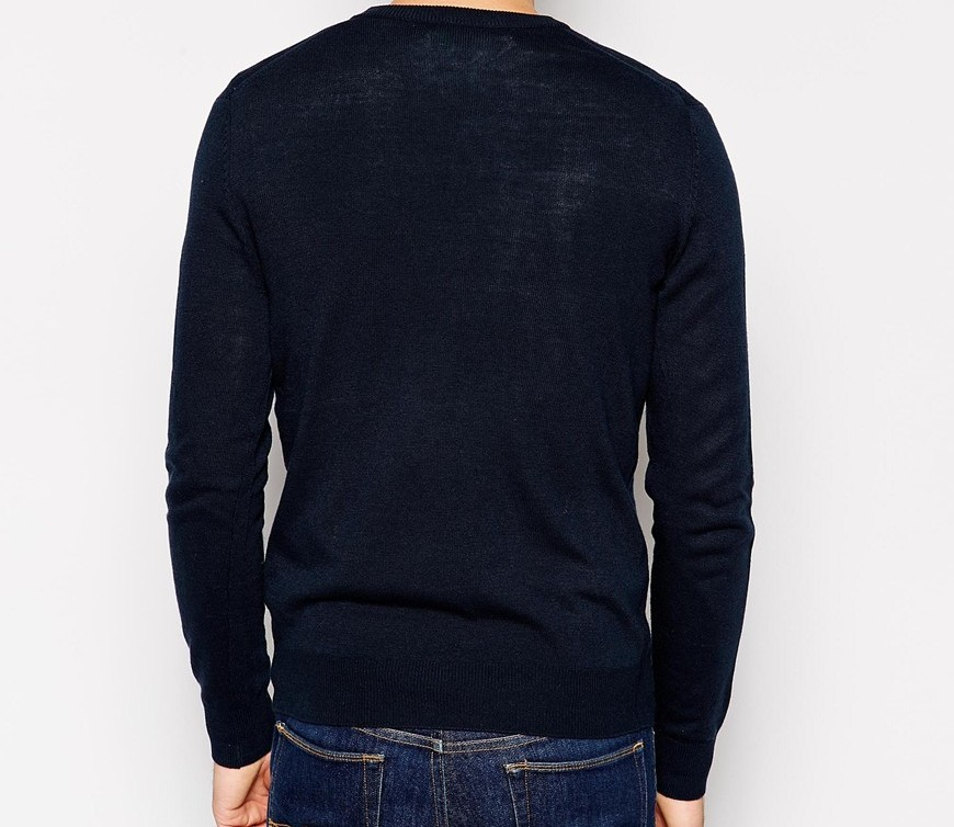 United Colors Of Benetton Jumper With V Neck 2