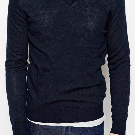 United Colors Of Benetton Jumper With V Neck 3