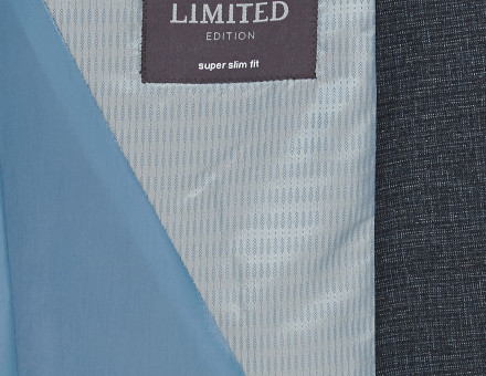 Blue Super Slim Fit Suit 6