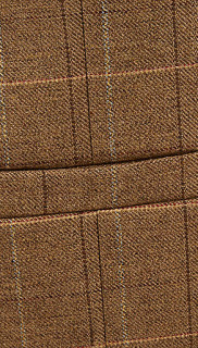 River Island Brown Check Three Piece Suit 4
