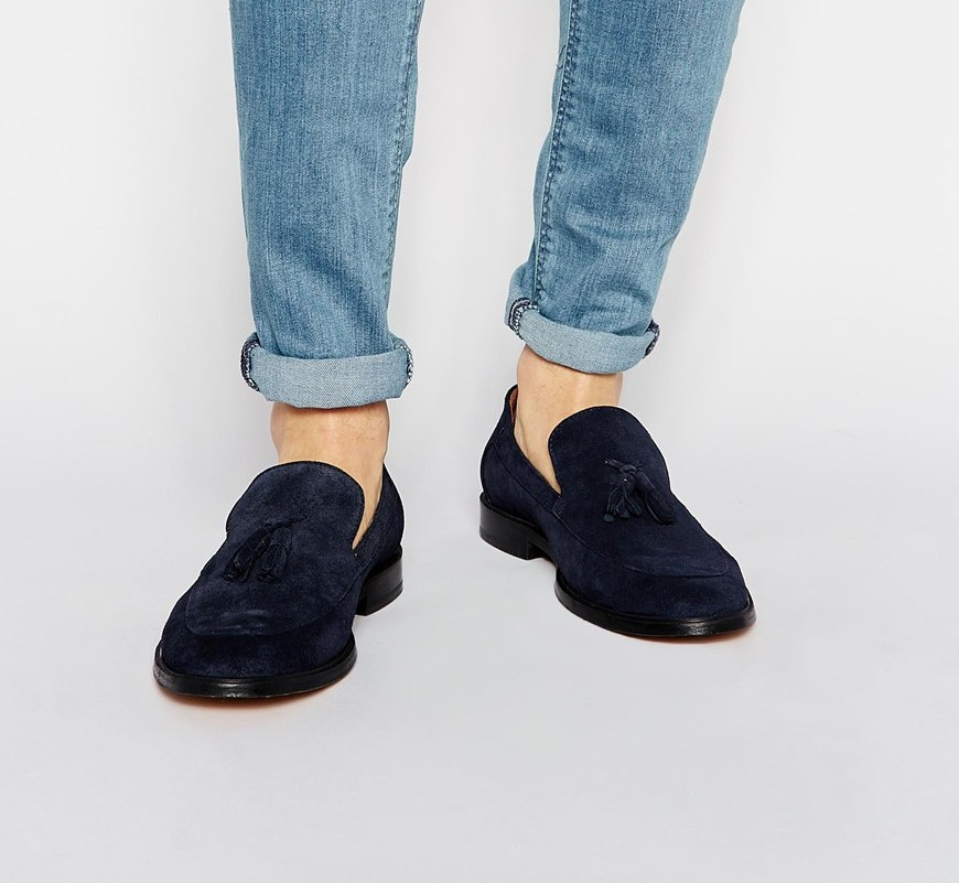 Reiss Tassel Loafers