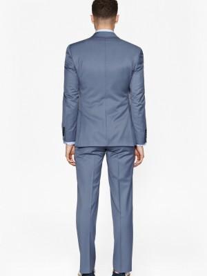 powder blue suit fcuk rear