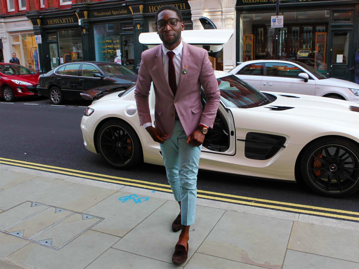 Tinie tempah spring fashion colours