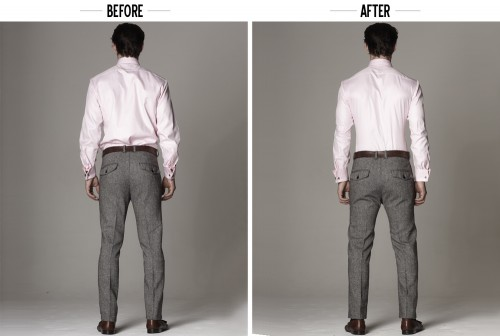 how to tuck in your shirt - military underwear tuck