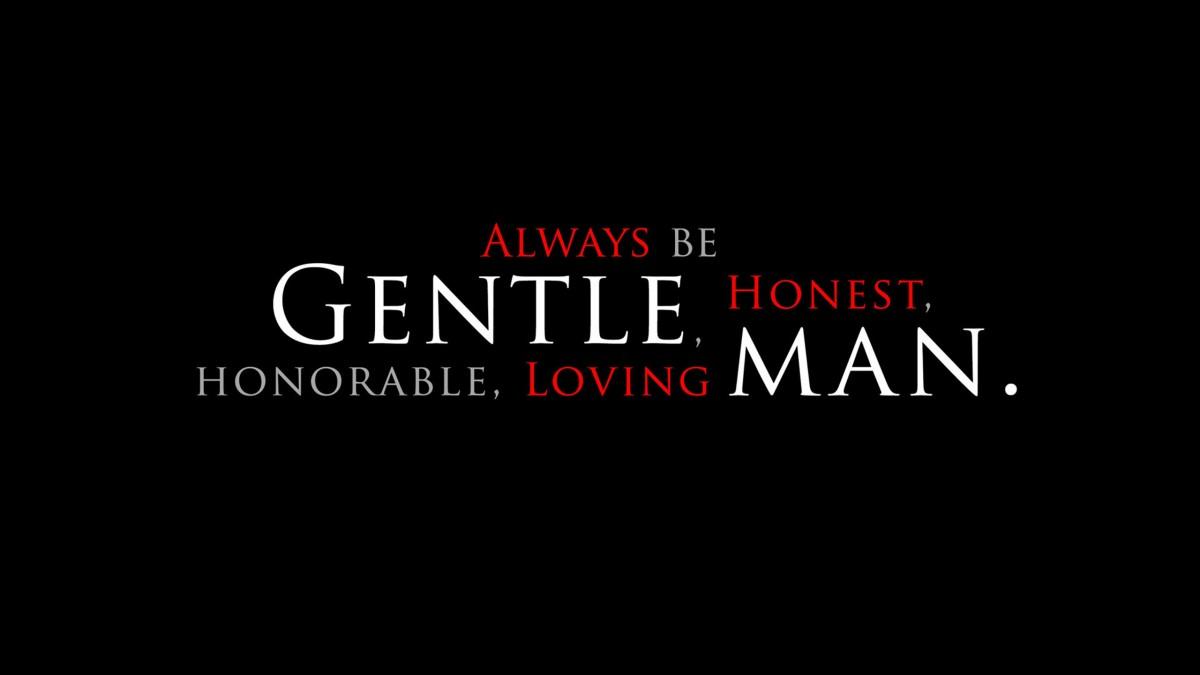 Be a Gentleman Wallpapers 2560x1440